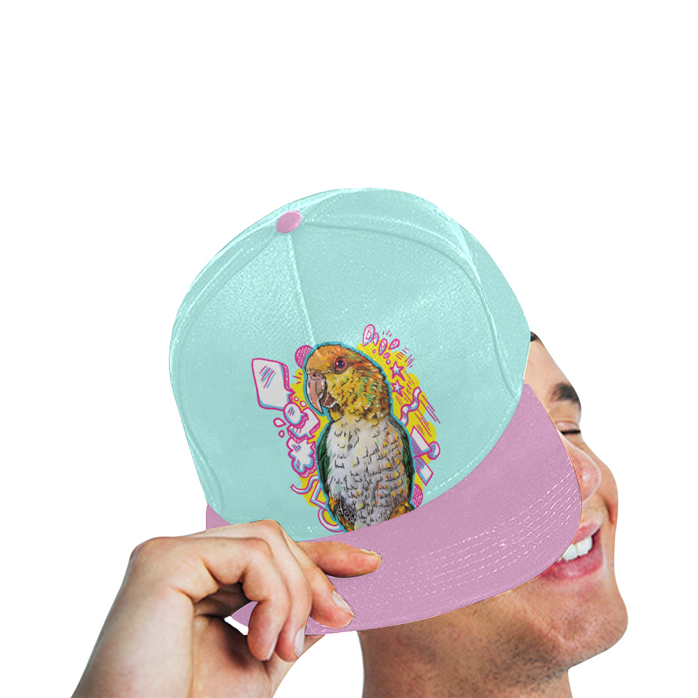 Jalapeno Pancake All Over Print Snapback Hat A