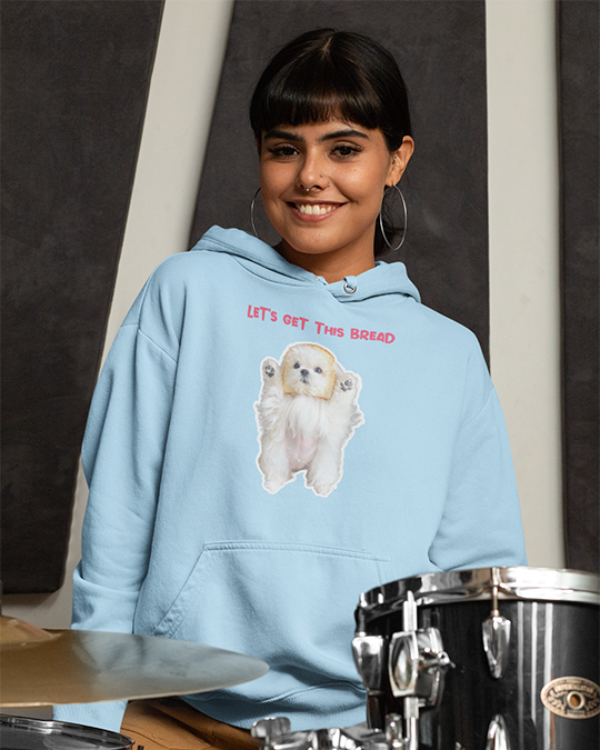 Coco The Maltese Dog Let's Get This Bread Official Hoodie
