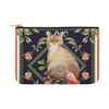 "Botanicat Pouch Collections-pouch-12.5""x8.5""-Abyssinian Carry-All Pouch 12.5''x8.5''-Kucicat"