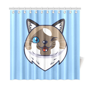 "Cricket Shower Curtain 72""x72"""