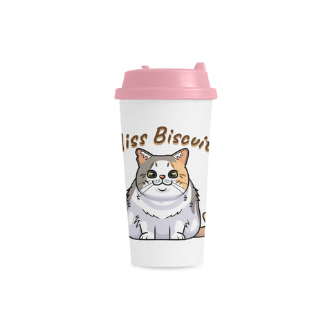 Miss Biscuits Double Wall Plastic Mug