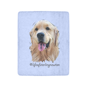 "Sterling Newton Limited Edition Ultra-Soft Micro Fleece Blanket 40""x50"""