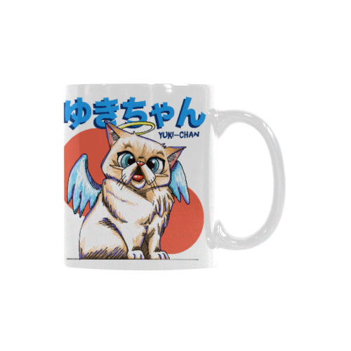 Tipperandco Mug Collections-Mug-One Size-Yuki Chan White Mug(11OZ)-Kucicat