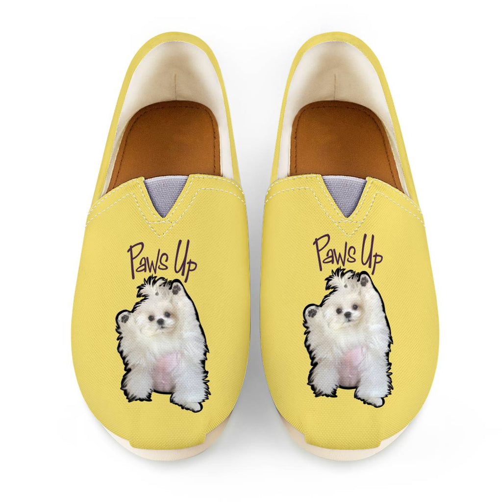 Coco The Maltese Dog Paws Up Official Canvas Shoes Women's Casual Shoes