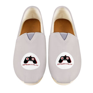 GAMRTALK White Logo Official Women's Casual Shoes