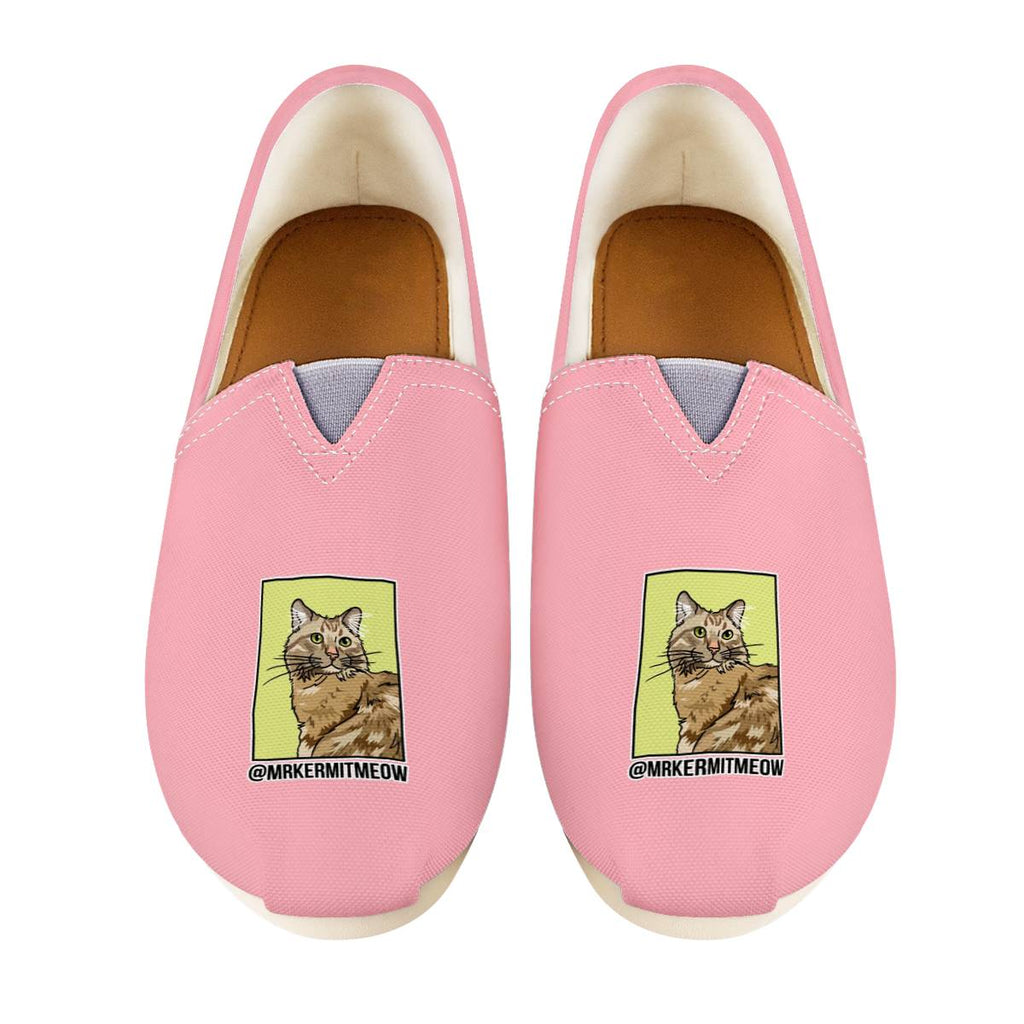 Mr. Kermit Meow Official Women's Casual Shoes