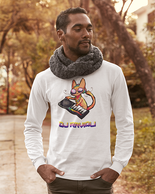 Dj Ravioli Long Sleeve T-Shirt