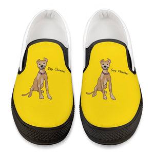 Chupey Say Cheese! Black Slip On Shoes