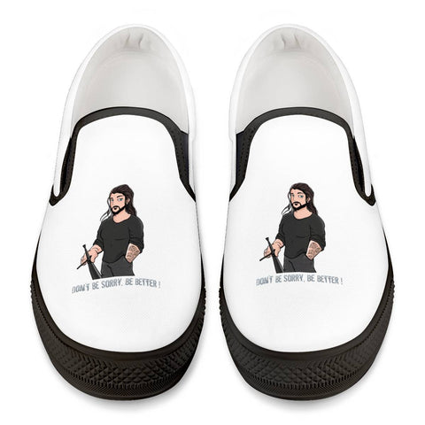 Alen Hasic @jackbeauregardpvt Official Back Slip Shoes Black Slip On Shoes