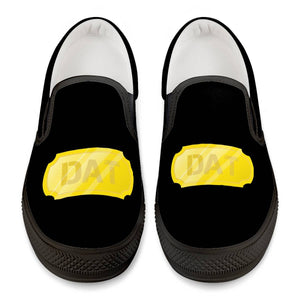 De'Anthony DAT GOLD Official Black Slip On Shoes