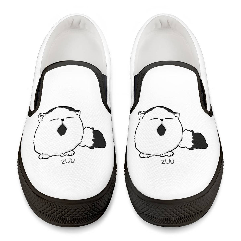 Pechanko Bocco Official Black Slip On Shoes