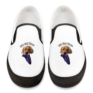 Sterling Newton It's Tax Time Official Slip On Shoes Black Slip On Shoes