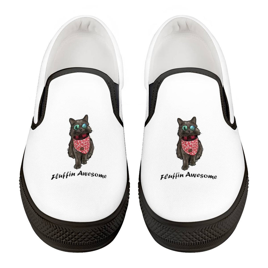 The Cat Shadow Officia Black Slip On Shoes