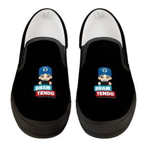 Bramtendo Official Black Slip On Shoes