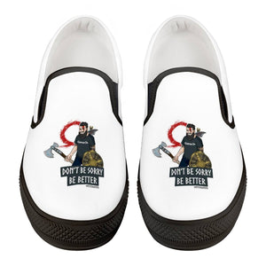 Mysta Gaming Official Black Slip On Shoes
