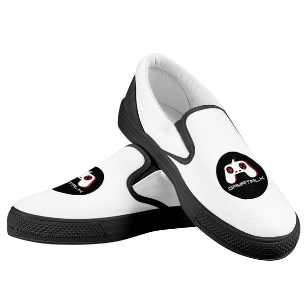 GAMRTALK Black Logo Official Slip On Shoes