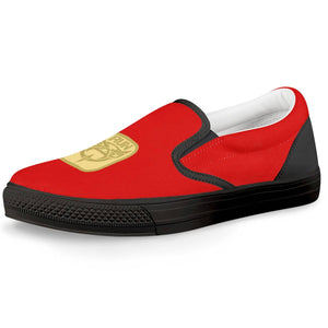De'Anthony RUN GOLD Official Slip On Shoes