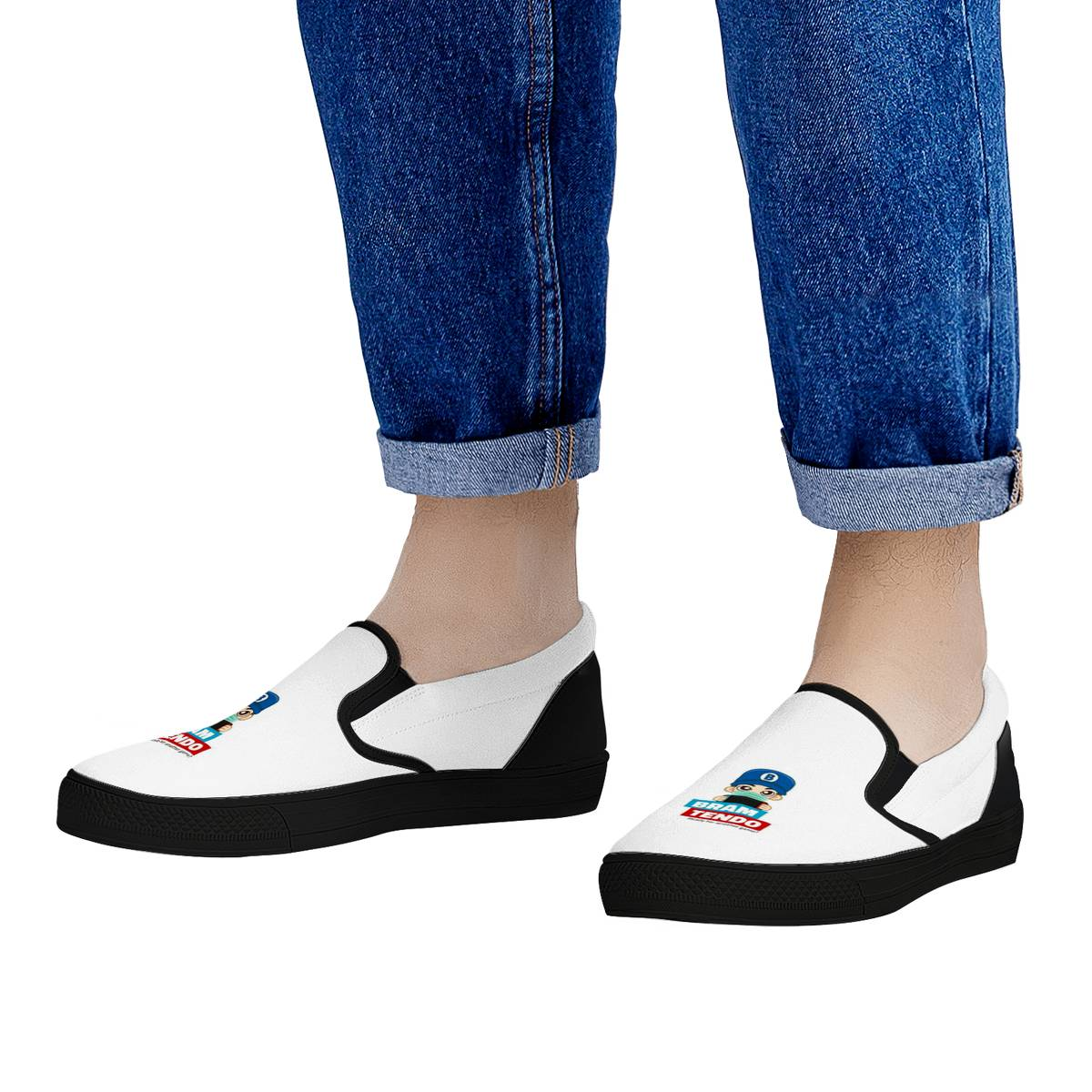 Bramtendo In Mask Official Slip On Shoes