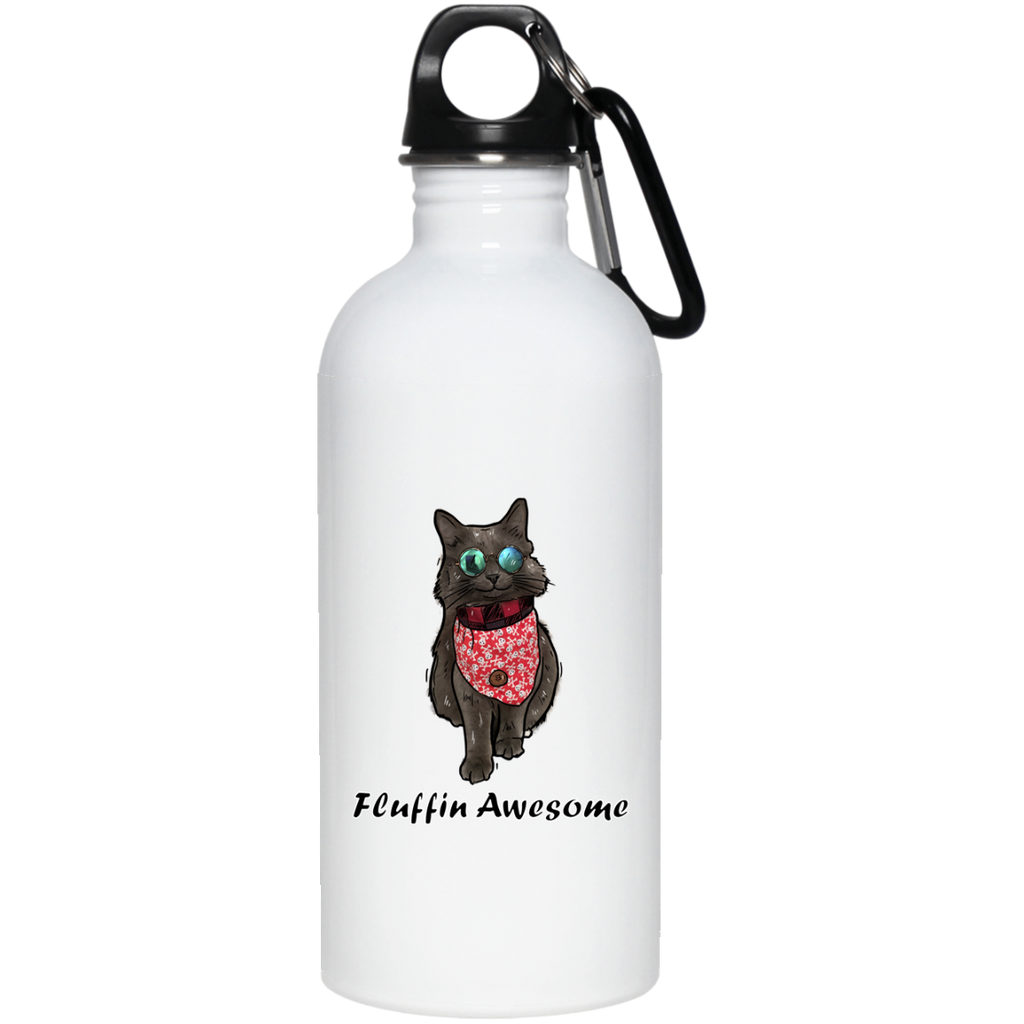 The Cat Shadow Official Stainless Steel Water Bottle