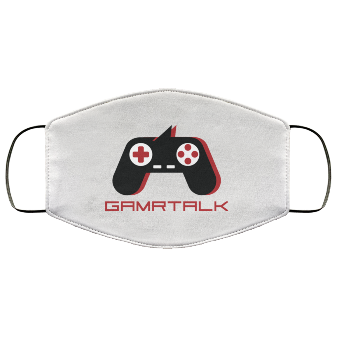 GAMRTALK Black Controller Official Face Mask