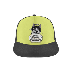 Rollie #CHkitten Ambassador Snapback Hat-All Over Print Snapback Hat-One Size-Kucicat