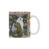 Botanicat Mugs Collection-Mugs-One Size-Botanicat Meow Peach! White Mug(11OZ)-Kucicat