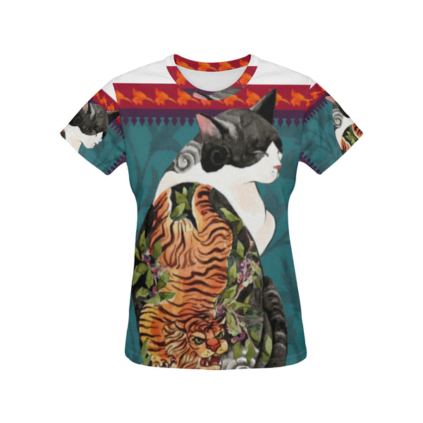 Botanicat Women's T-shirt Collection-Vardise.com