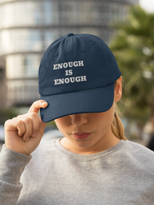 ENOUGH IS ENOUGH Vardise Originals Snapback Trucker Cap