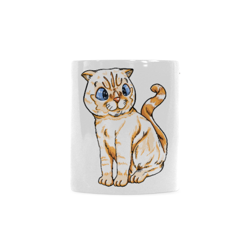 Coco Cat with Tie Mug 11oz Collections-Mug-One Size-Coco Cat White Mug(11OZ)-Kucicat