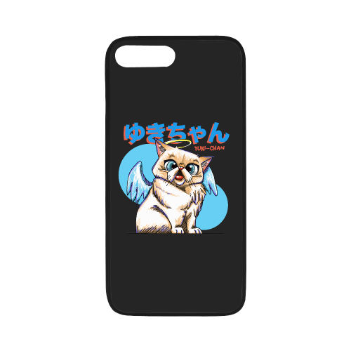 "Yuki Chan Rubber Case for iPhone-iphone case-One Size-Yuki Chan Rubber Case for iPhone 8 plus (5.5"")-Kucicat"