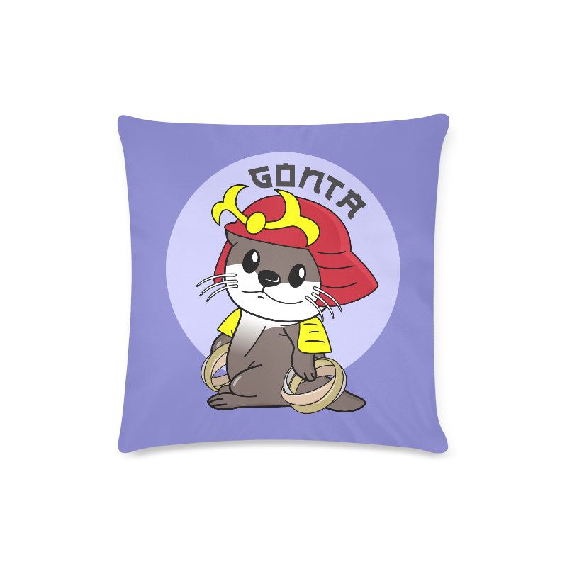 "Gonta Otter Ring Master Custom Zippered Pillow Case 16""x16""(Twin Sides)"