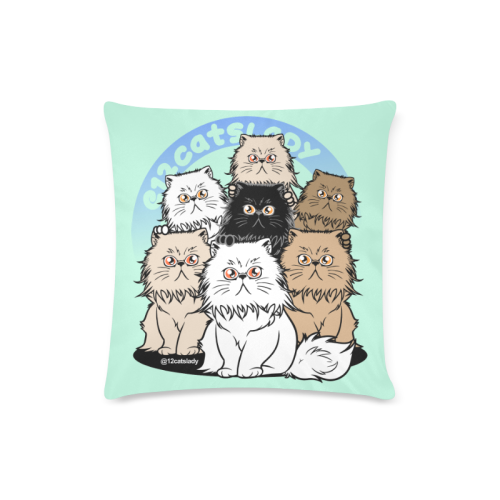 12Catslady Custom Zippered Pillow Case 16