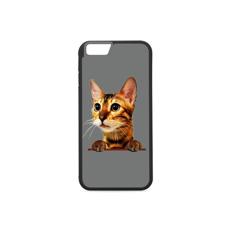 Simba the Bengal Rubber Case for iPhone