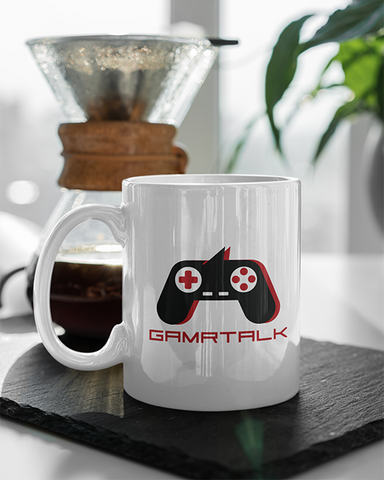 GAMRTALK Black Controller Official 11oz Mug
