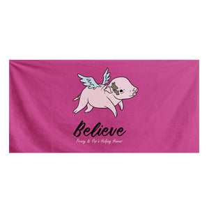 Prissy Pig Believe Official Bath Towel
