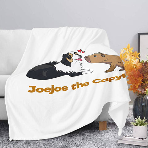 JoeJoe The Capybara and The Lovely Dog Blankets