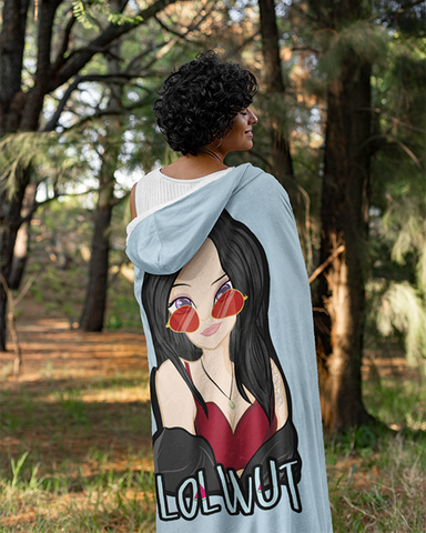 Janice Lau @lolwutjanice Official Hooded Blanket