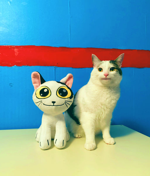 Limited Edition Ollie the Polite Cat Plush Toys