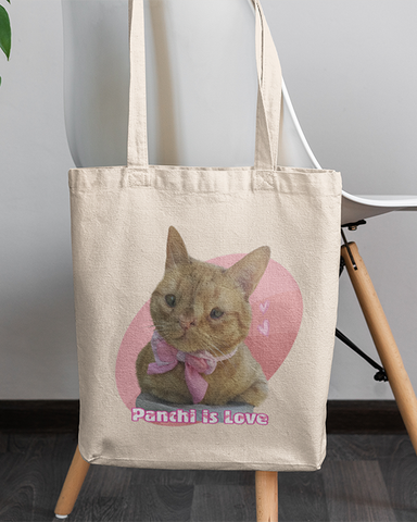 Panchi Is Love Official Canvas Tote Bag