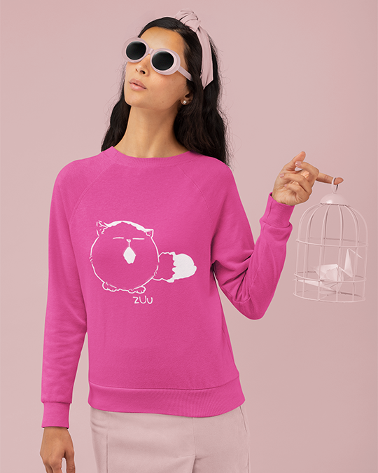 Pechanko Bocco Zuu Pink Official Sweatshirt