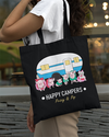 Prissy & Pop Happy Campers Canvas Tote Bag