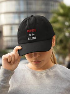 REFUSE to be SILENT Originals Snapback Trucker Cap