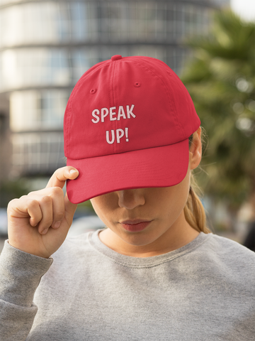 SPEAK UP! Originals Snapback Trucker Cap