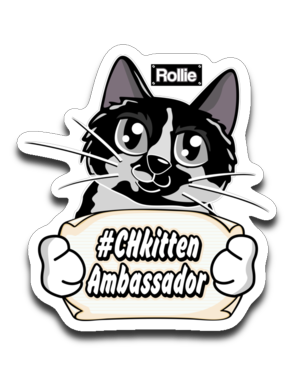 Rollie #CHkitten Ambassador Sticker Decal-Sticker-Kucicat