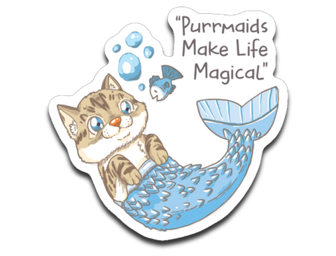 Roo Purrmaids Sticker Decals (Only for USA Order)
