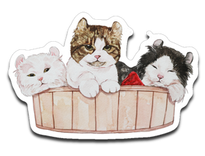 Ameria the Cat Sticker Decal