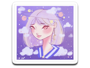 Galaxy - Kizha Nicolee Official Decal Sticker