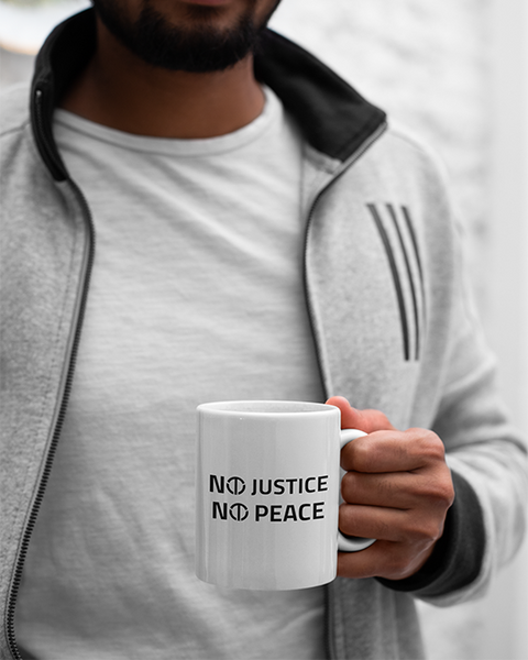 Terrell Owens No Justice No Peace Official 11oz Mug