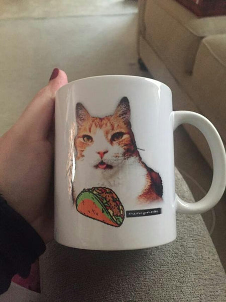 Taco Tongue Tuesday White Mug(11OZ)