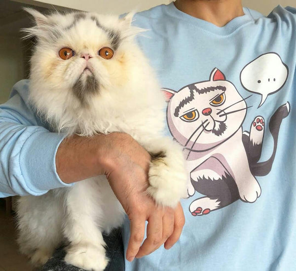 Tipperandco Lenny Cat Unisex Sweatshirt S-2XL